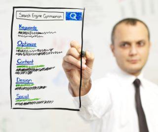 Online Marketing Plan includes seo