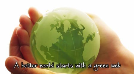 A better world starts with a green web