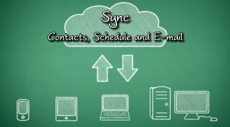 E-mail hosting - Exchange - Sync